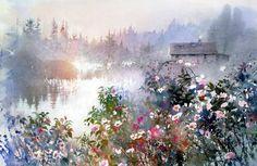 Wild Rose Cottage by Nita Engle