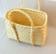 Guatemala  Hand-Woven Basket  Large by PIDcrafts on Etsy