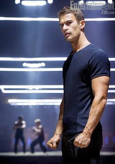 """.Theo James as """"Four"""" in Divergent."""