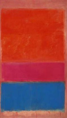Mark Rothko - No.1 (Royal Red and Blue), 1954