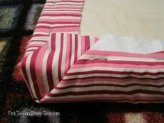 How to build a simple, scrap wood upholstered footstool Upholstered Footstool, Wood Putty, Reupholster Furniture, Blanket Box, Quilt Batting, My Sewing Room, Wood Screws, Diy For Girls, Easy Projects