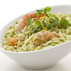 Risotto-style pea and mint orzo | Recipe | Sweet peas, Sweet and ...