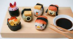 Sushi Disney cute | ARTIST DATABASE