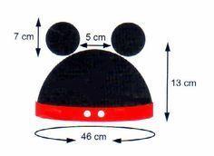 tejidos artesanales en crochet: gorro mickey tejido en crochet