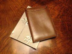 leather envelope for license Nazzareno Gabrielli 70s