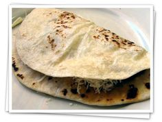 Honduran Baleadas are ridiculously simple and delicious, and baleada is fun to say.