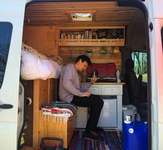Looking up distances to all the places we want to go...making plans!  #sprintervanconversion #vanlife #sprintervan