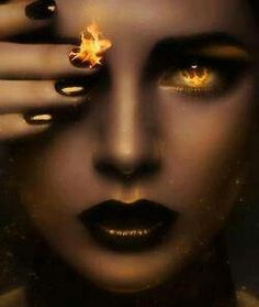 # THERE IS FIRE IN HER EYES