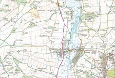 Avon Valley Path, Salisbury to Downton - back of the map