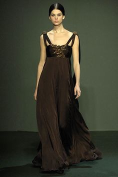 Andrew Gn Fall 2007 Ready-to-Wear Fashion Show - Rachel Clark