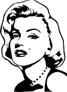 Famous Faces Marilyn Monroe