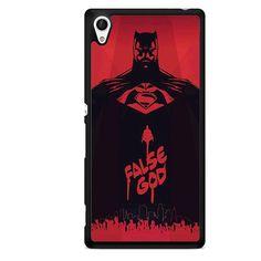 Batman V Superman False God TATUM-1557 Sony Phonecase Cover For Xperia Z1, Xperia Z2, Xperia Z3, Xperia Z4, Xperia Z5
