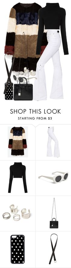 """Untitled #9870"" by nikka-phillips ❤ liked on Polyvore featuring Sonia Rykiel, Valentino, Yves Saint Laurent, CellPowerCases and H&M"