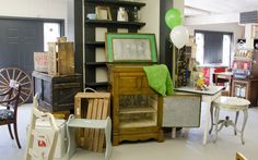 Showing Off Our Showroom! Showroom, Corner Desk, Furniture, Home Decor, Homemade Home Decor, Corner Table, Home Furnishings, Decoration Home, Fashion Showroom