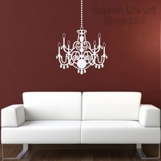 Black chandelier wall decal | For The Home | Pinterest | Wall decals Chandeliers and Wall sticker & Black chandelier wall decal | For The Home | Pinterest | Wall decals ...