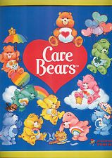 1985 Panini Care Bears Original Mint Sticker Album.  I got so much joy out of these sticker books and would beg my mom to pick up more stickers packs at the grocery store.