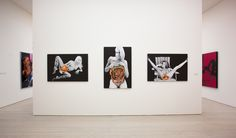 From the series 'Exhibitionists'.POST POP: EAST MEETS WEST.Saatchi Gallery.2014/15