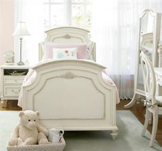 Rosalie Kids Twin Size Panel Bed - White (https://www.zinhome.com/rosalie-kids-twin-size-panel-bed-white/)