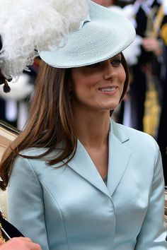 Kate Middleton Wears Christopher Kane At Order Of The Garter 2014 | Marie Claire