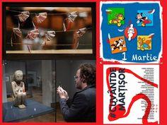 1 MARTIE. Cuvinte și imagini cu șnur alb-roșu, de la creativitatea românească, pentru lumea întreagă Martie, Tel Aviv, Baseball Cards, News, Sociology