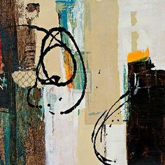 """""""Abstract Collage III"""" from Bridges Art Gallery"""