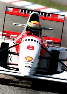 Aryton Senna - Mclaren Ford