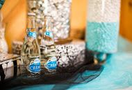Blue and Silver Wedding Buffet