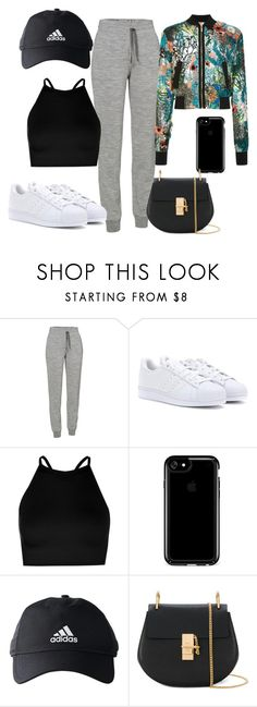 """#219"" by vihh-vargas on Polyvore featuring moda, Icebreaker, adidas, Boohoo, Speck, Chloé e PatBo"