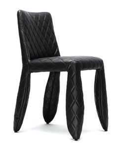 Monster Side Chair by Moooi Blue Dining Room Chairs, Side Chairs, Rope Shelves, Wooden Shelves, Stylish Chairs, Black Fire, Single Sofa, Clean Design, Upholstered Chairs