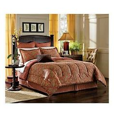 closeout! lauren ralph lauren bedding, tangier comforter sets