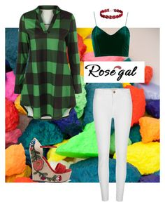 """""""Rosegal"""" by stina715 ❤ liked on Polyvore featuring River Island and Gucci"""