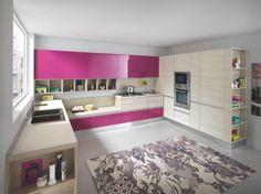 Επιπλα Κουζινας απο Βακελιτη με ενσωματωμένο πόμολο σε διαφορα χρωματα | Ιταλικα επιπλα κουζινας Dreamkitchen