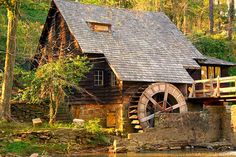 The Old Mill:  Mountain Brook, Alabama...favorite building at home