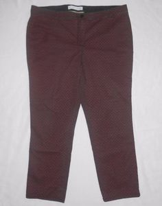 Jaclyn Smith Pants Pluse Size 18 Brown Comfort Sits Margaret Fit stretch waist…