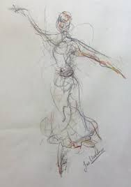 Image result for drawings of dancers