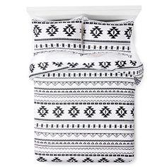 Black & White Printed Comforter - Xhilaration™