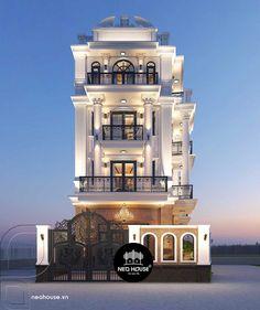 Best Modern House Design, Classic House Design, Latest House Designs, Architecture Building Design, Home Building Design, Modern Architecture House, 3 Storey House Design, Bungalow House Design, House Outside Design