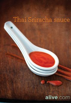 This addictive Thai Sriracha sauce is smoking hot in culinary circles. It's surprisingly easy to craft your own fresh chili-garlic #sauce at home. alive.com #DIY