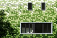 Brandt+Simon Architekten, Berlin pixelated house, pixelated design, prefab housing, solar energy, solar panels, small houses, recycled paper insulation, eco-friendly houses, sustainable building, Berlin architecture