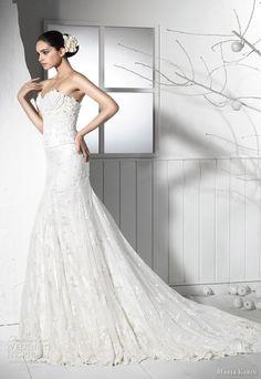 http://weddinginspirasi.com/2012/02/16/maria-karin-wedding-dresses-2012/2/ wedding dress beaded bodice maria karin 2012 #weddings #wedding #bridal #weddingdress #strapless #gown