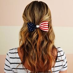 Pin for Later: Proud to Be an American: Patriotic Hairstyles For the Fourth of July