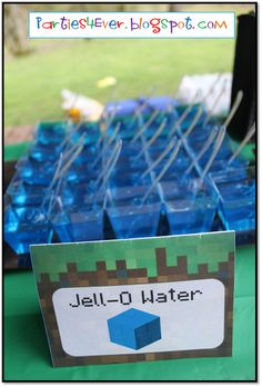 @Diana Avery Avery Setness Made me think of You :) Parties4Ever: Minecraft Party