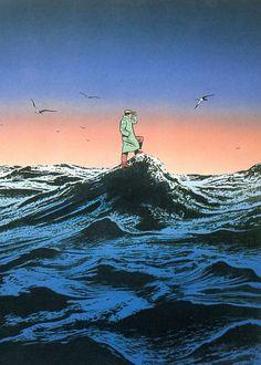 Cultura Inquieta - Ilustraciones irónicas, por Guy Billout