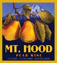 Mt. Hood Winery label design