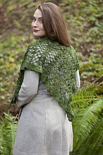 Onodrim Shawl by Lindsey Stephens - Designed for Camp Yarnover Truck 2016 at Stitches West in exclusive colorway by Inner Yarn Zen.
