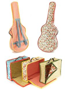 I need a guitar case and a sewing project:)