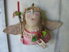 Santa Lucia Angel by Baggaraggs on Etsy