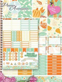 Sticker - 101 Stickers - ECLP Vertikal Wochen Kit SET021 - ein Designerstück von…