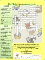 Crossword Puzzles Word Searches For FACS Foods Classesnot Sure If There