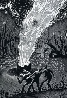 """' Virgil Finlay (July 23, 1914 January 18, 1971) was a pulp fantasy, science fiction and horror illustrator. While he worked in a range of media, from gouache to oils, Finlay specialized in, and became famous for, beautifully detailed pen-and-ink drawings accomplished with abundant stippling, cross-hatching, and scratchboard techniques. Despite the very labor-intensive and time-consuming nature of his specialty, Finlay created more than 2600 works of graphic art in his 35-year career."""""""